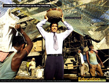 press campaign-education times,for times of india, rediffusion