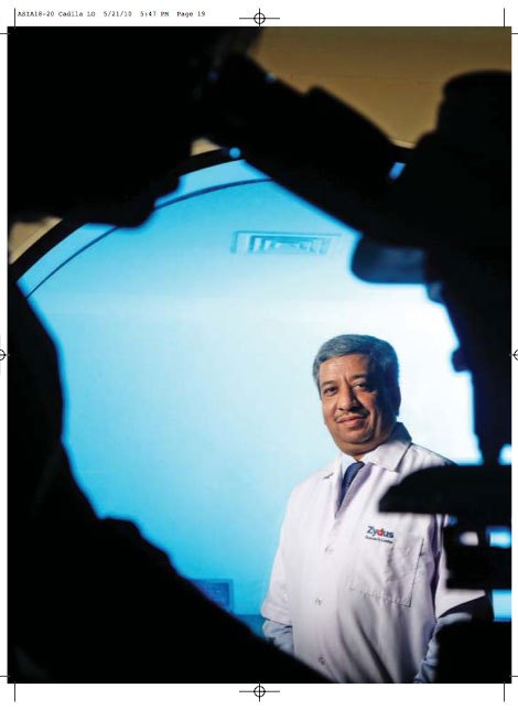 Published in Forbes Asia, Chairman and MD- Pankaj patel of Cadilla healthcare