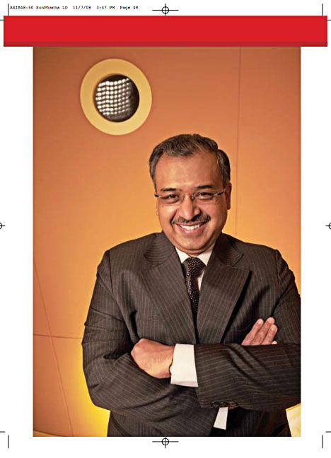 Published in Forbes Asia, DILIP SHANGHVI OF SUN PHARMA